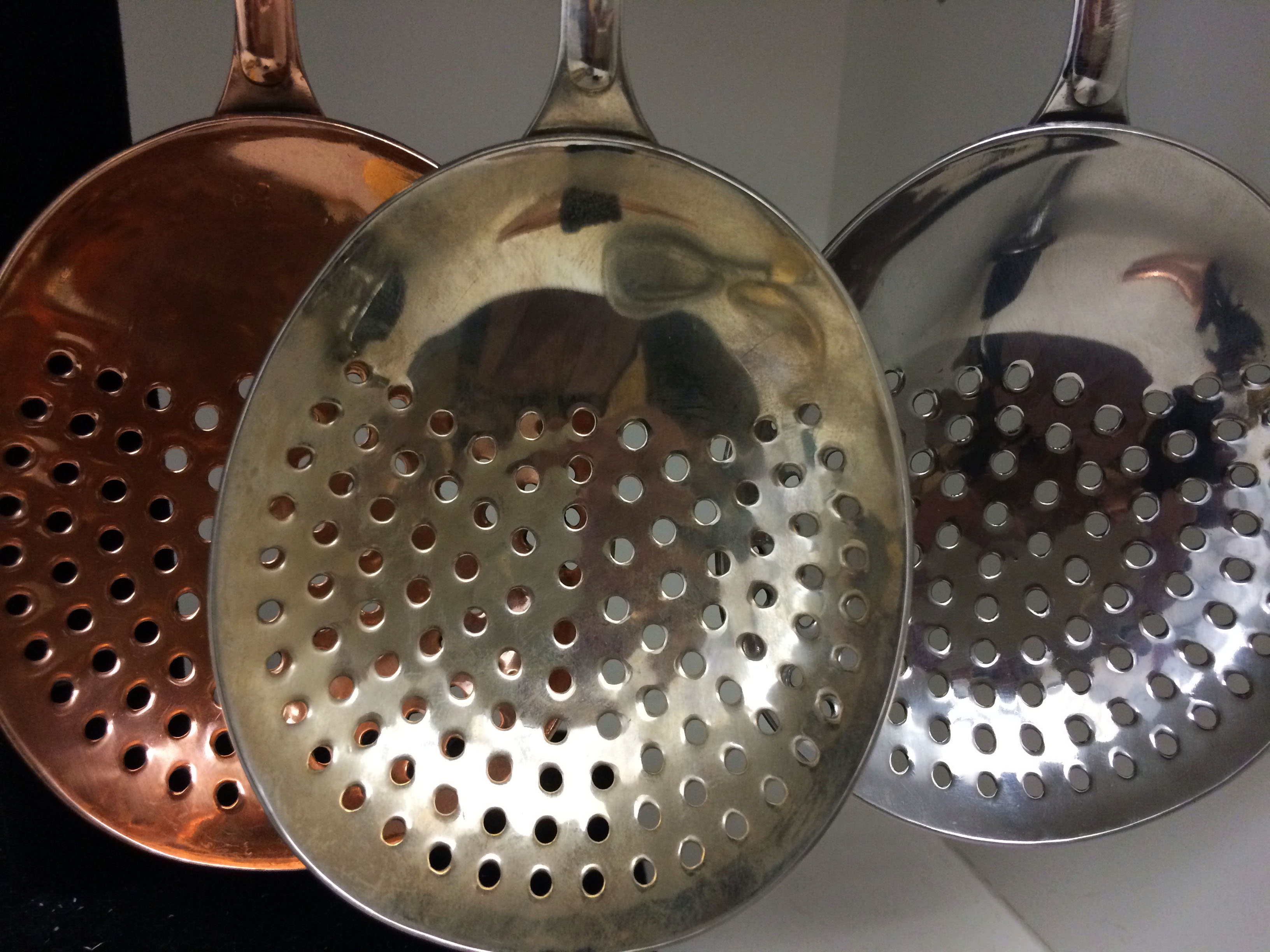 Julep strainers