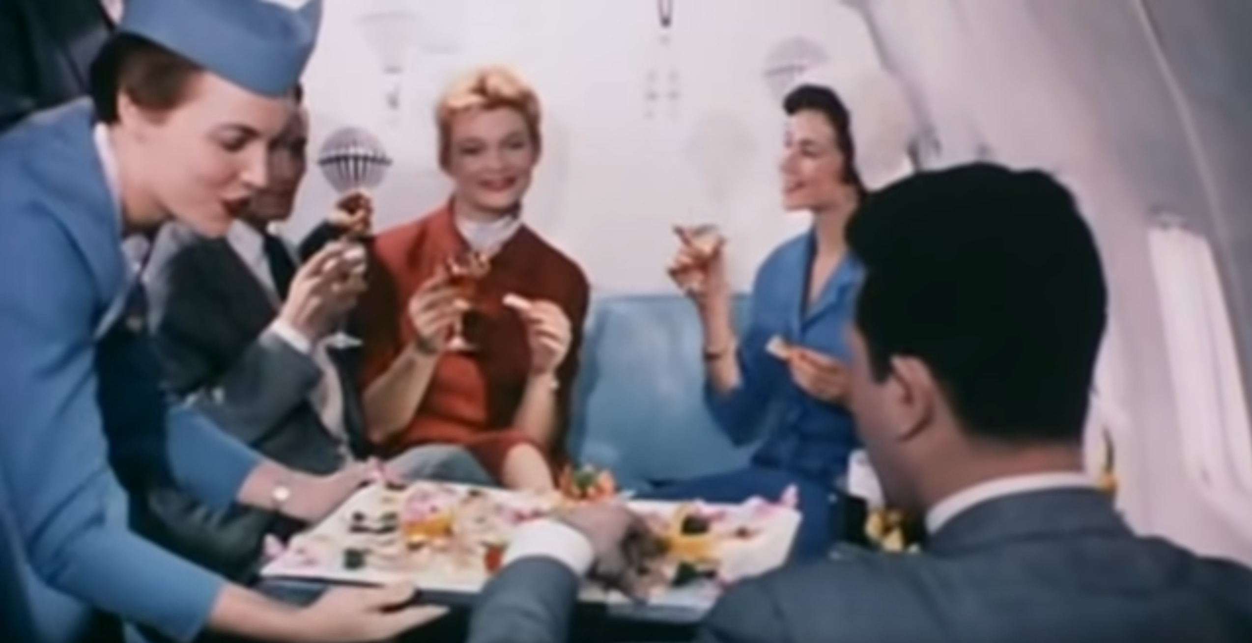 """Screenshot from BBC2 documentary """"Come Fly With Me: the Story of Pan Am"""""""